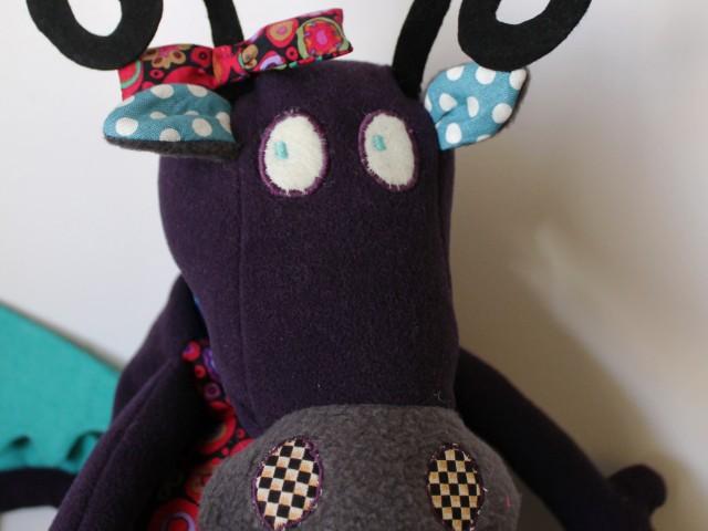 Doudou Vache/Dragon pour Tamar