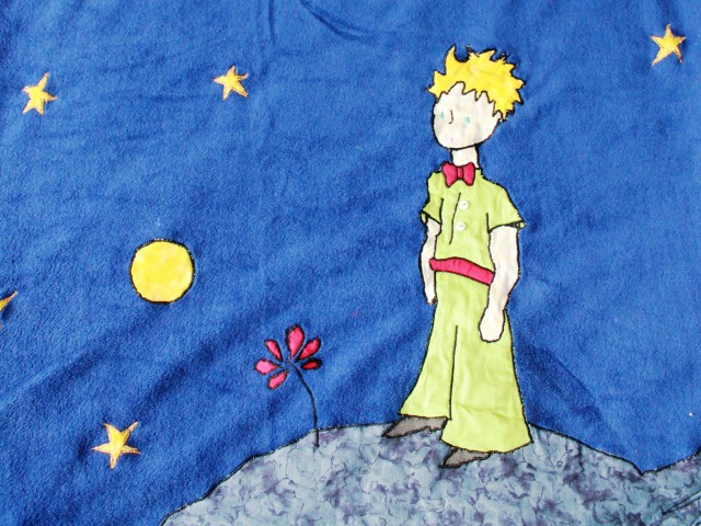 Couvertue «Le Petit Prince» pour Lisa