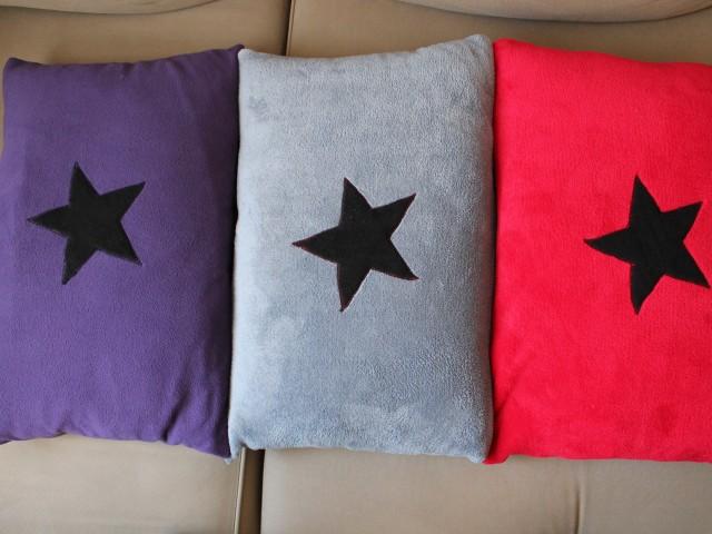 Coussins «3 étoiles» pour mon Loulou