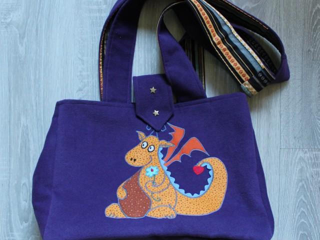 Un joli sac pour Eliott et sa maman !