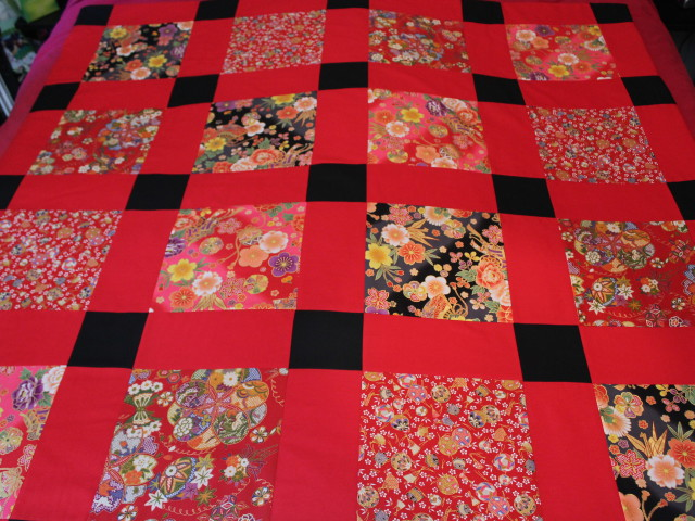 Un patchwork «japonais» pour Christelle