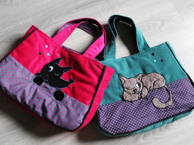 Deux petits sacs pour les neveux !