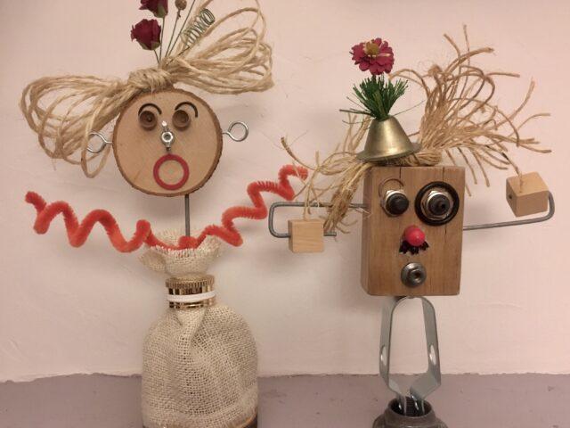 Un joli couple de robots pour la nièce de Véro